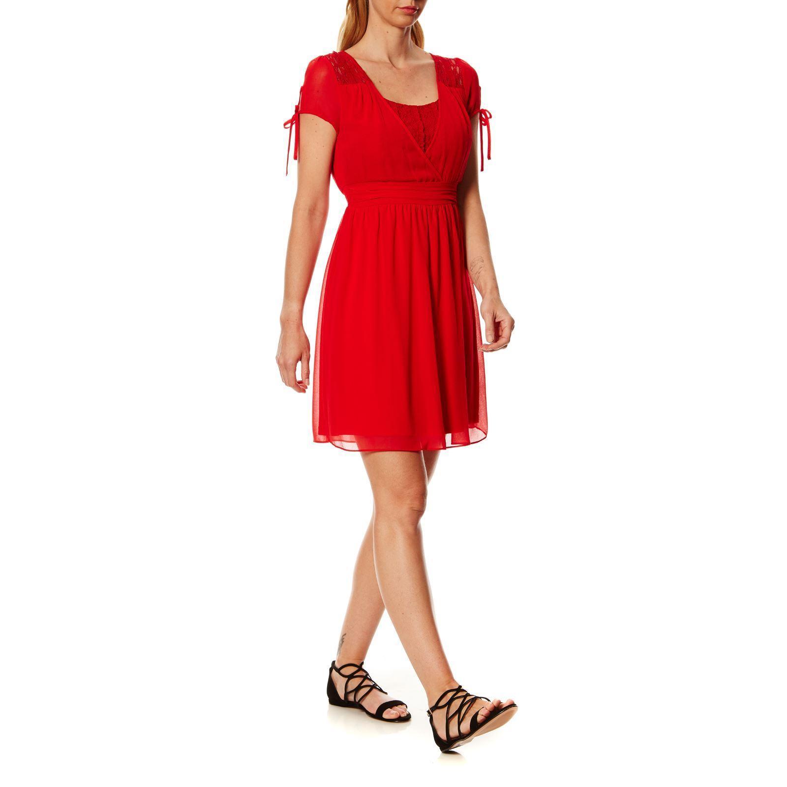 Robe rouge nafnaf