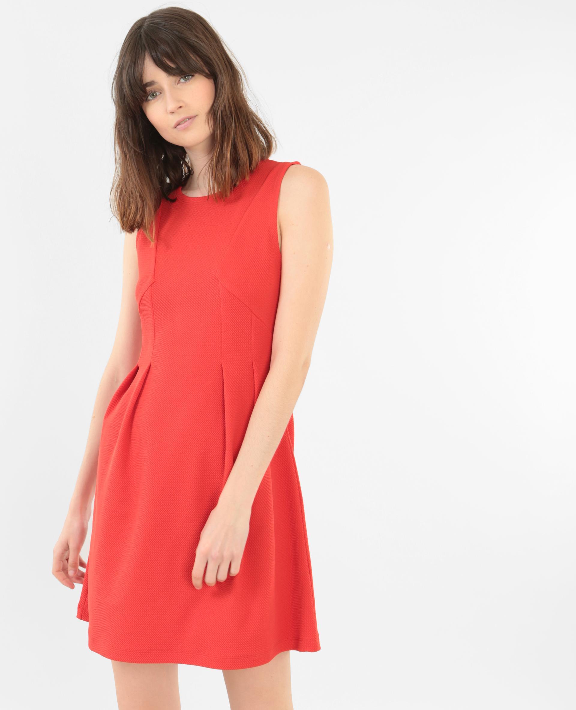 Robe rouge pimkie