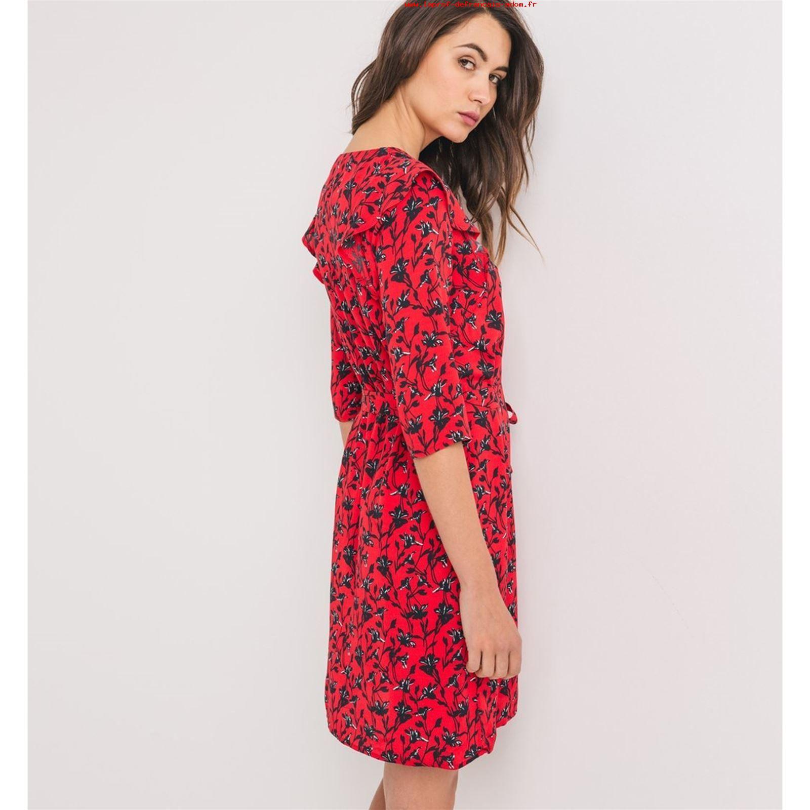 Robe rouge promod