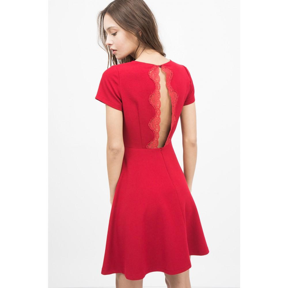 Robe rouge sinequanone