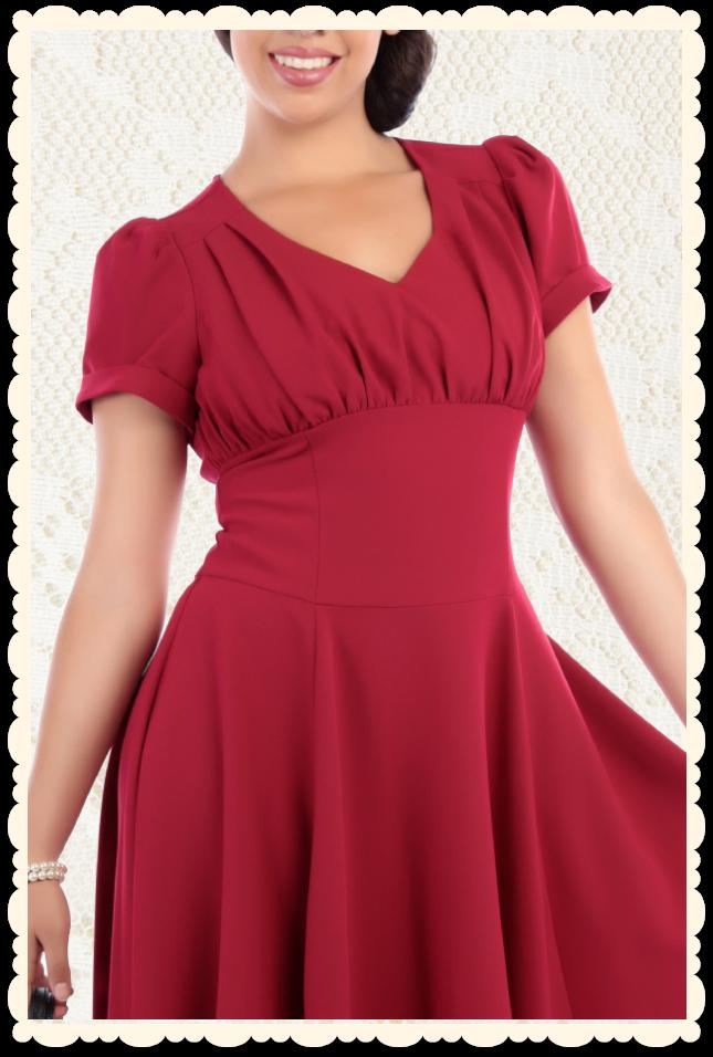 Robe rouge taille 50