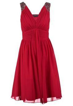 Robe rouge zalando