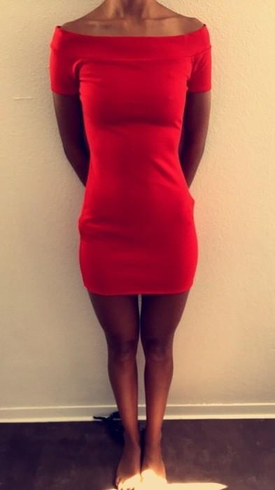 Robe rouge zara