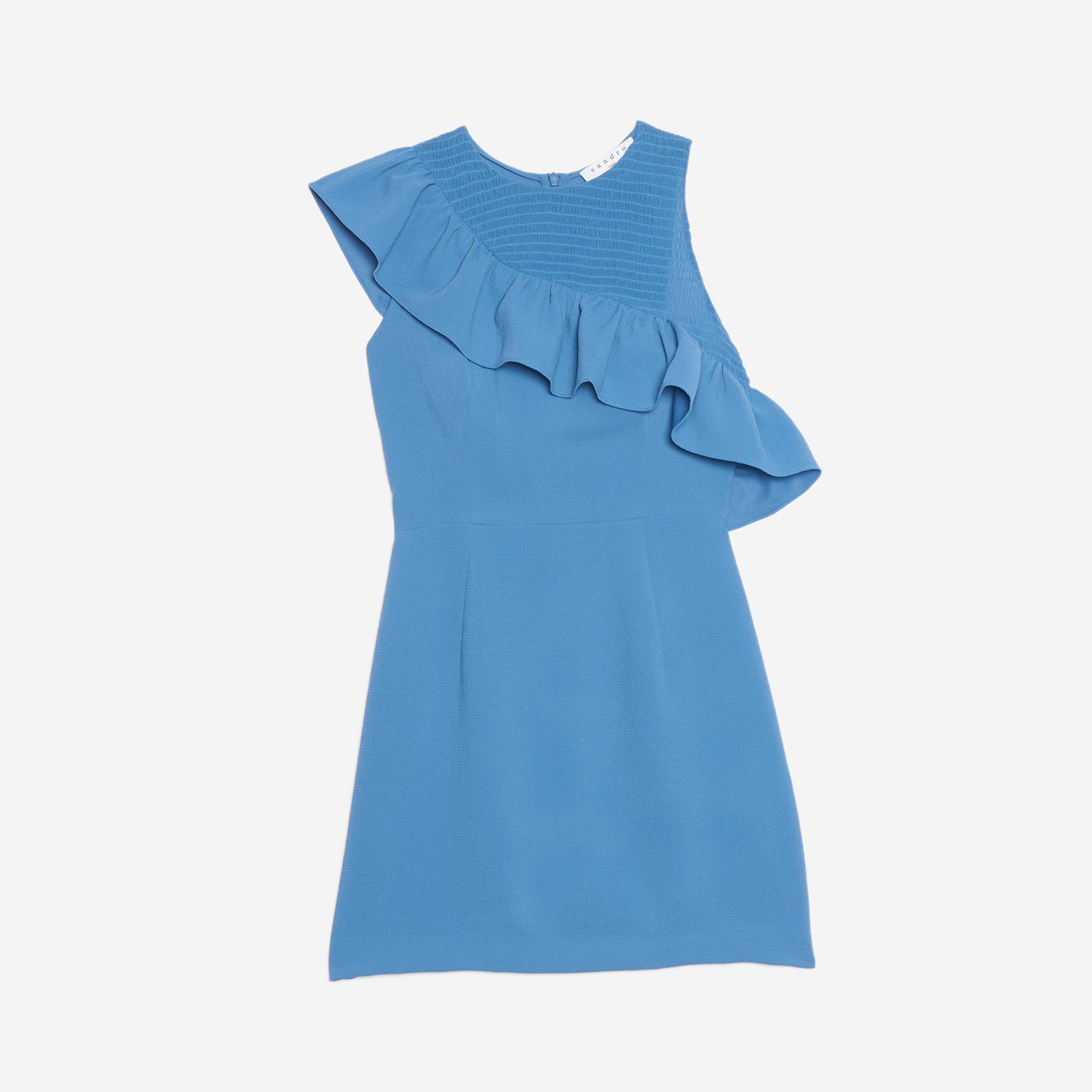 Robe sandro bleu