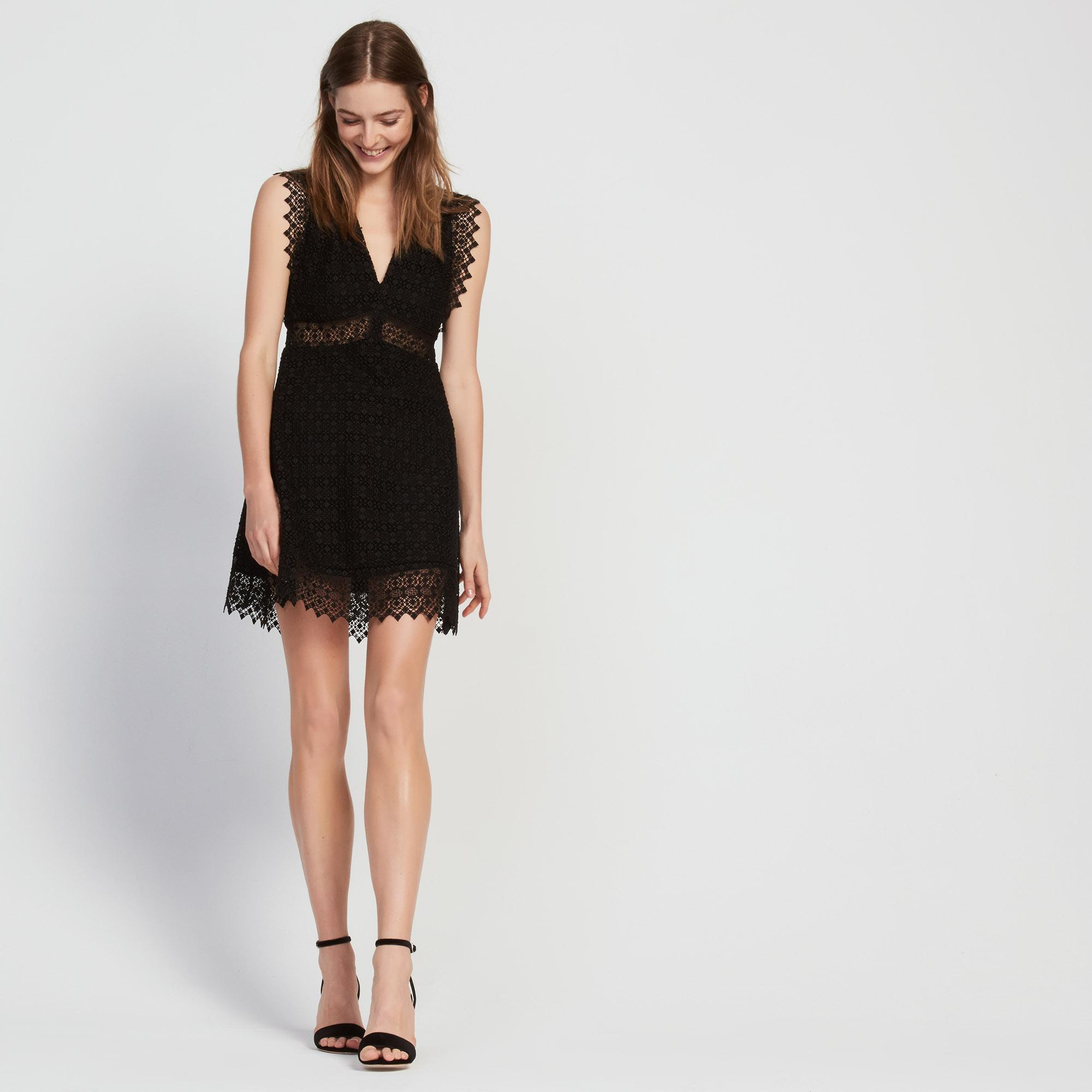 Robe sandro noir