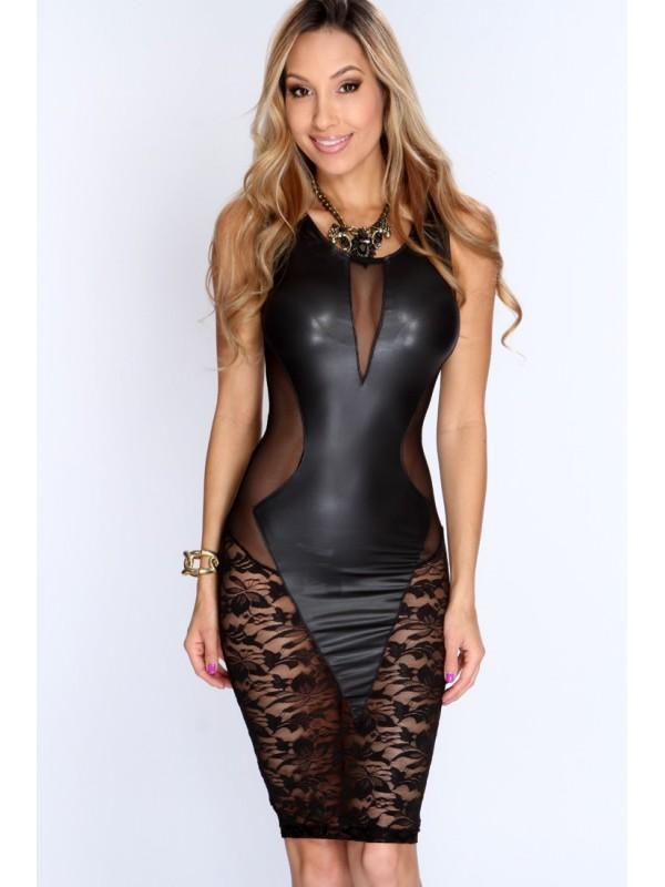 Robe sexy noir