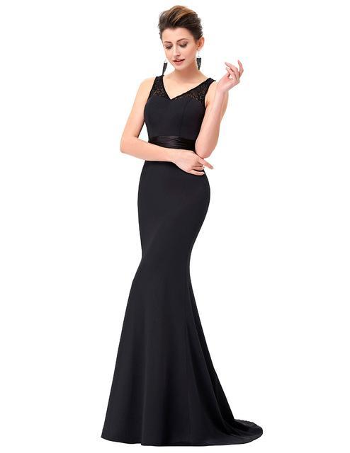 Robe sirene noir