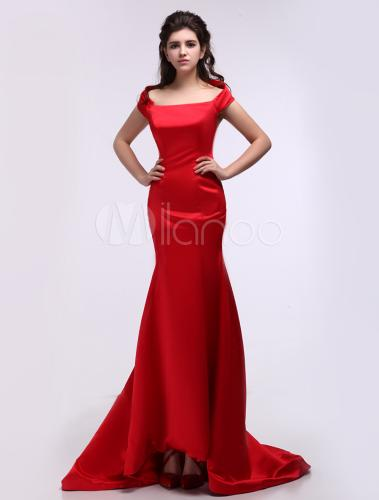 Robe sirene rouge