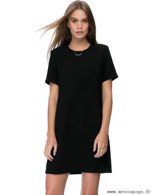 Robe t shirt noir