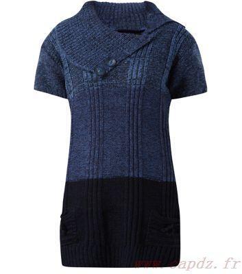 Robe tunique bleu marine