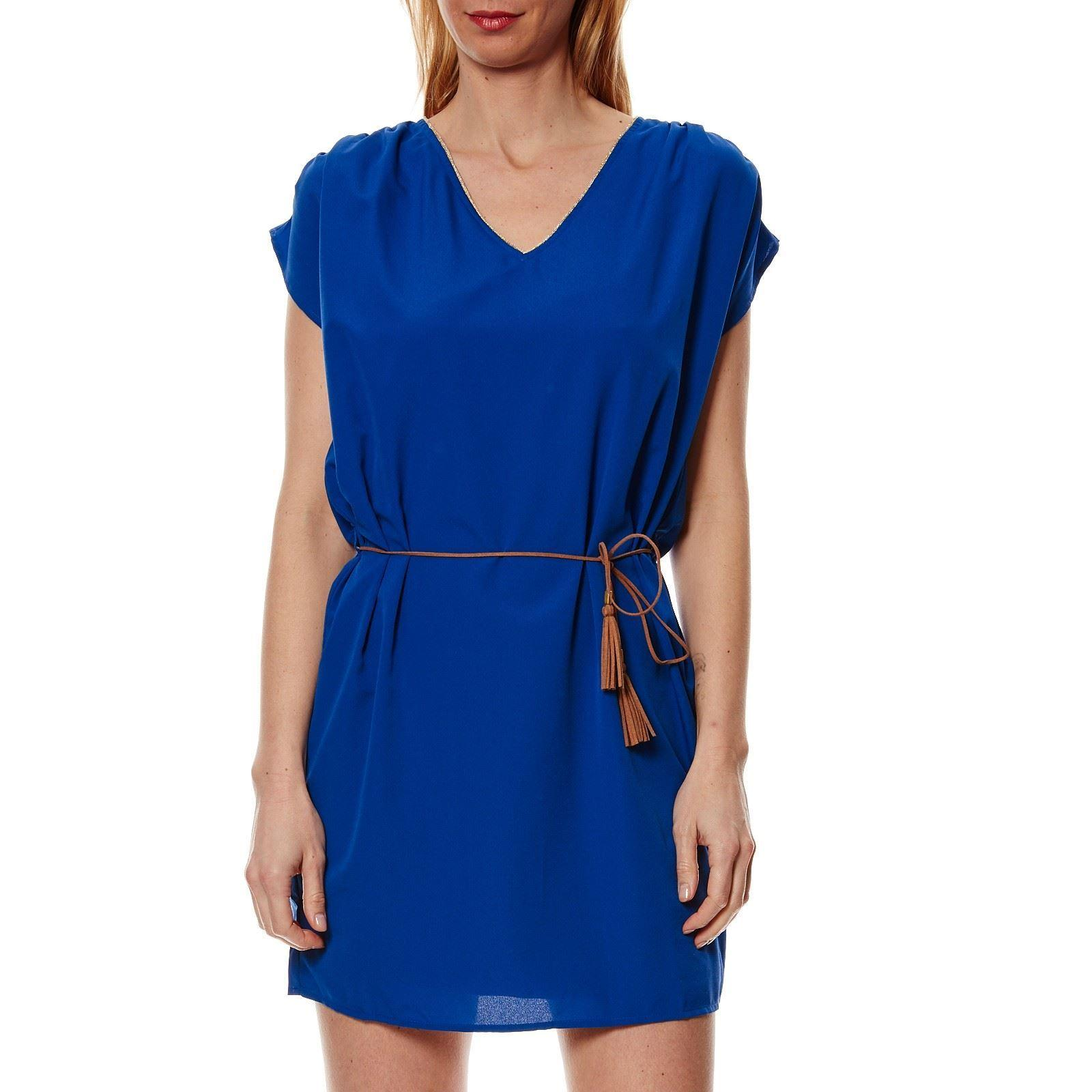 Robe vero moda bleu