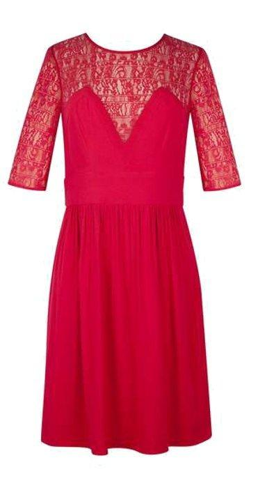 Sandro robe rouge