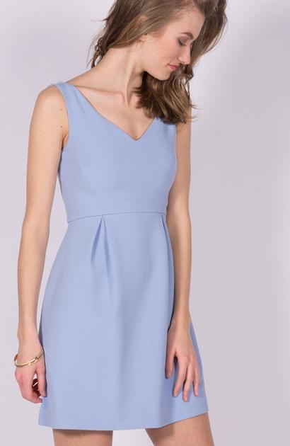 Tara jarmon robe bleu