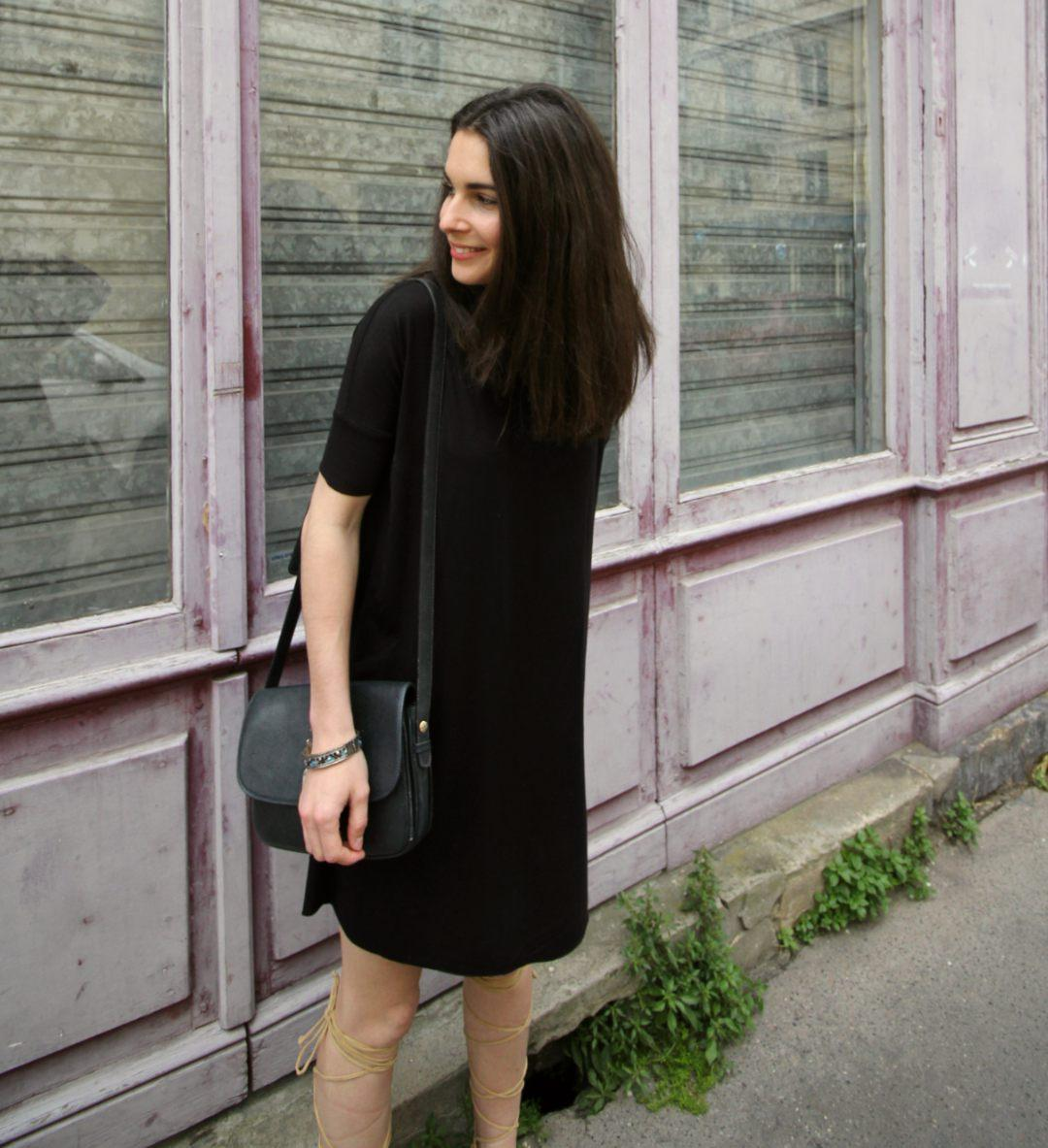 Tenue robe noir