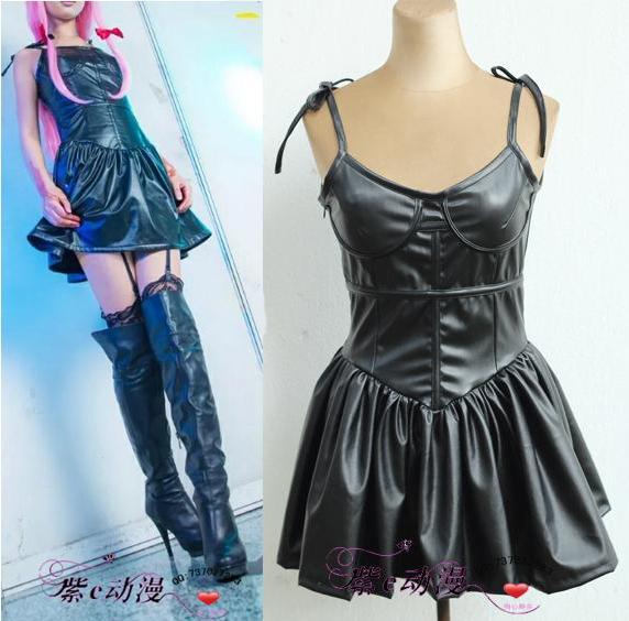 Yuno gasai robe noir